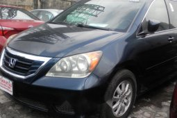 Foreign Used Honda Odyssey 2009 Model Blue