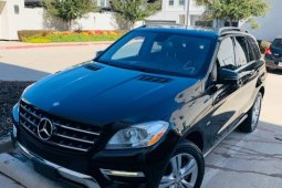 Foreign Used Mercedes-Benz ML350 2012 Model Black