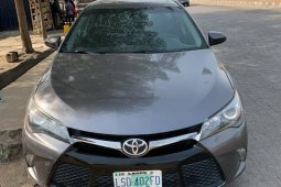 Nigeria Used Toyota Camry 2016 Model Gray