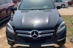 Foreign Used Mercedes-Benz GLE 2018 Model Black