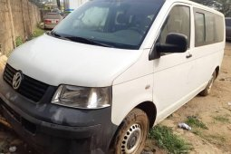 Foreign Used Volkswagen Transporter 2010 Model White