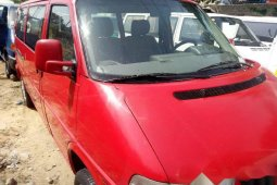 Foreign Used Volkswagen Transporter 2000 Model Red