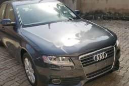 Foreign Used Audi A4 2010 Model Black