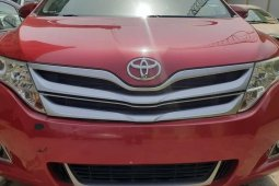 Foreign Used Toyota Venza 2012 Model Red