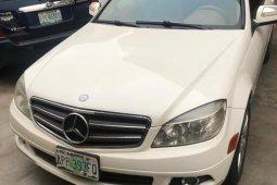 Nigeria Used Mercedes-Benz C300 2008 Model White