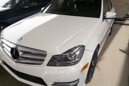 Foreign Used Mercedes-Benz C300 2013 Model White