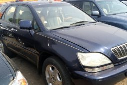 Nigeria Used Lexus RX 2002 Model Blue