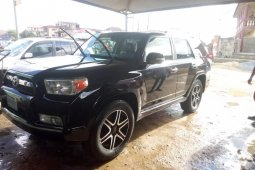 Locally Used 2011 Black Toyota 4-Runner for sale in Lagos.