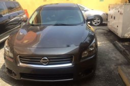 Foreign Used Nissan Maxima 2014 Model Gray