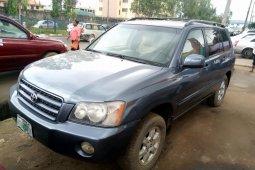 Naija Used Toyota Highlander 2003 Model for sale