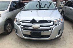 Foreign Used 2013 Silver Ford Edge for sale in Lagos
