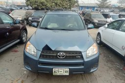 Foreign Used 2010 Blue Toyota RAV4 for sale in Lagos