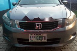 Nigeria Used Honda Accord 2008 Model Gray