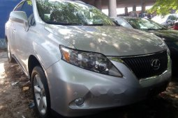 Foreign Used 2012 Silver Lexus RX for sale in Lagos