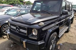 Foreign Used Mercedes-Benz G63 2012 Model Black