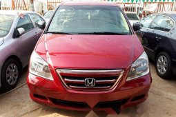 Foreign Used Honda Odyssey 2007 Model Red