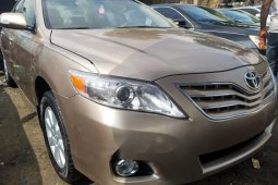 Foreign Used Toyota Camry 2009 Model Gold