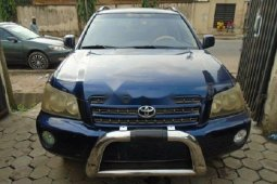 Nigerian Used  2004 Model Toyota Highlander Well maintained