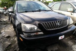 Foreign Used Lexus RX 2001 Model Black