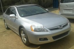 Foreign Used Honda Accord 2006 Model Silver