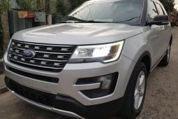 Foreign Used Ford Explorer 2016 Model Silver