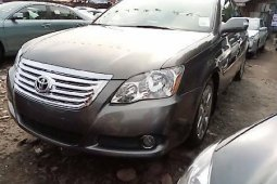 Foreign Used Toyota Avalon 2008 Model Gray