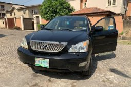 Nigeria Used Lexus RX 2006 Model Black