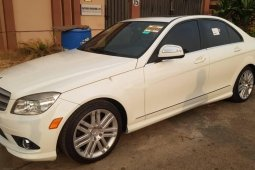 Tokunbo Mercedes-Benz C300 2010 Model White