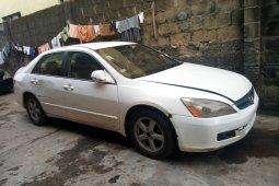 Nigeria Used Honda Accord 2003 Model White