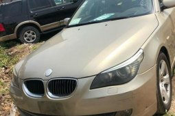 Nigeria Used BMW 530i 2008 Model Gold