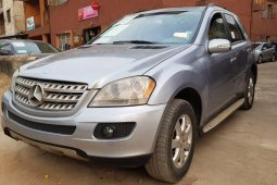Nigeria Used Mercedes-Benz ML350 2007 Model Blue