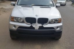 Foreign Used BMW X5 2004 Model Silver