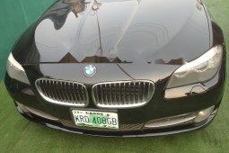 Nigeria Used BMW 550i 2011 Model Black