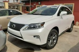 Foreign Used Lexus RX 2013 Model White