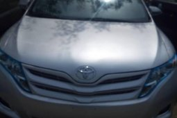 Foreign Used 2009 Silver Toyota Venza for sale in Lagos