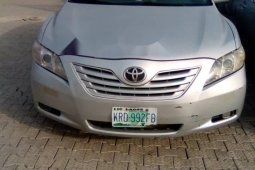 Nigeria Used Toyota Camry 2007 Model Silver
