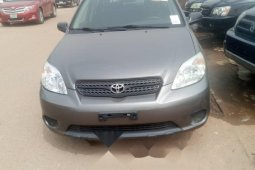 Foreign Used Toyota Matrix 2005 Model Gray