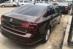 Foreign Used Volkswagen Jetta 2016 Model Brown