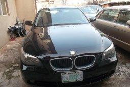 Nigeria Used BMW 525i 2005 Model Black