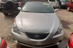 Nigeria Used Toyota Solara 2006 Model Silver