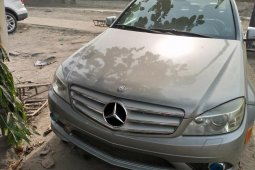 Foreign Used Mercedes-Benz C300 2008 Model Blue