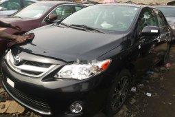 Tokunbo Toyota Corolla 2012 Model Black