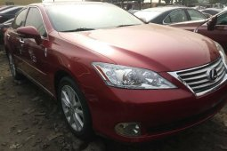 Foreign Used Lexus ES 2010 Model Red