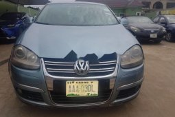 Nigeria Used Volkswagen Jetta 2008 Model Blue