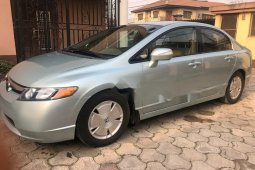 Foreign Used Honda Civic 2007 Model Blue