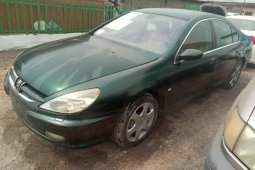 Nigeria Used Peugeot 607 2009 Model Green