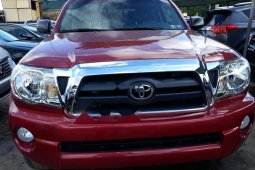 Foreign Used Toyota Tacoma 2006 Model Red