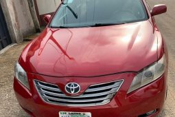 Foreign Used Toyota Camry 2008 Petrol Automatic Red