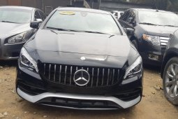 Foreign Used Mercedes-Benz CLA-Class 2015 Model Black