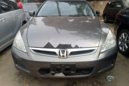Foreign Used Honda Accord 2006 Model Gray